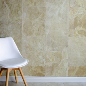 Gold Stone tile effect