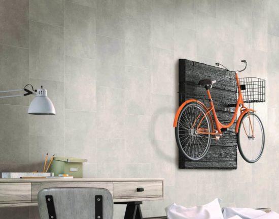Grey Stone Tile Roomset