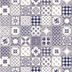 Mediterranean Panel - Tile effect