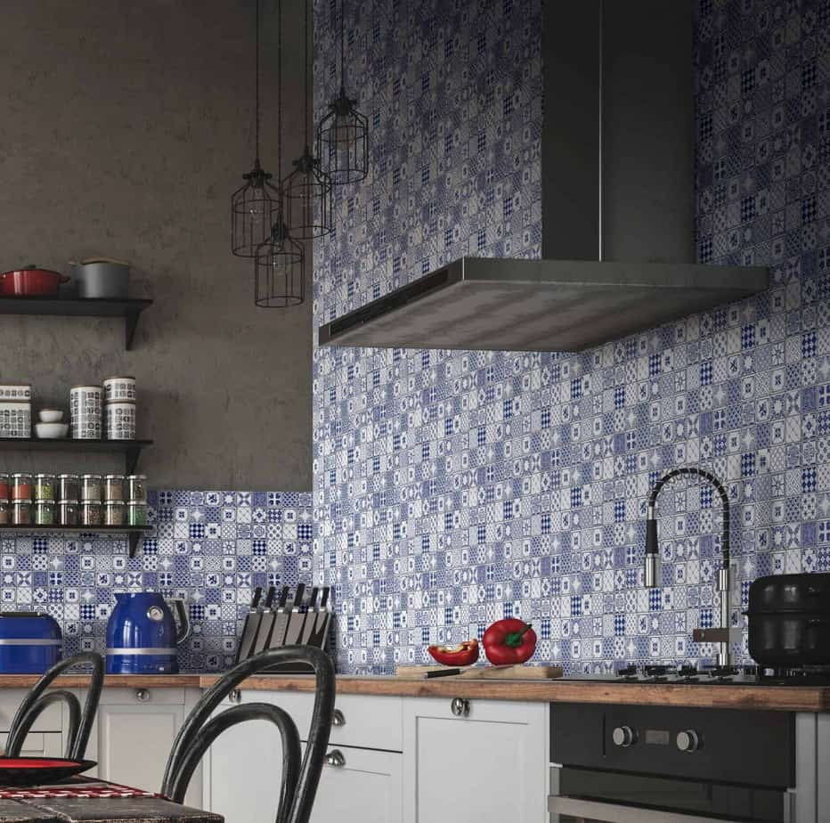 Kitchen Tile Effect Wall Panel Easy Panels