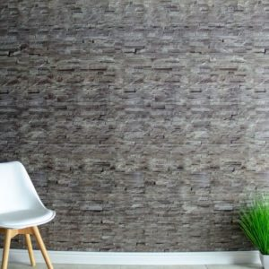 Stone wall effect