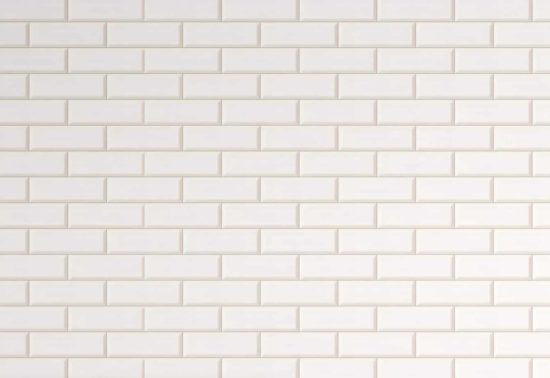 White Gloss Tile Panel Image