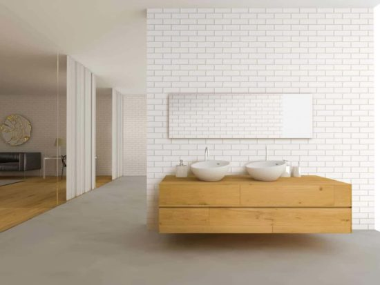 White Gloss Tile Roomset