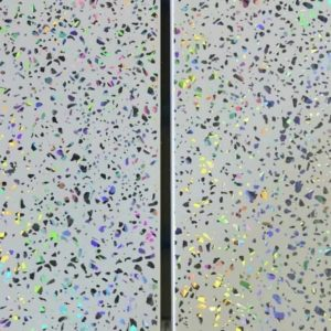 sparkle chrome ceiling cladding
