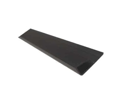 Black End Cap PVC
