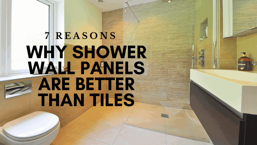 Bathroom Shower Wall Panels.7 Visual Reasons Shower Panels Are Better Than Tiles