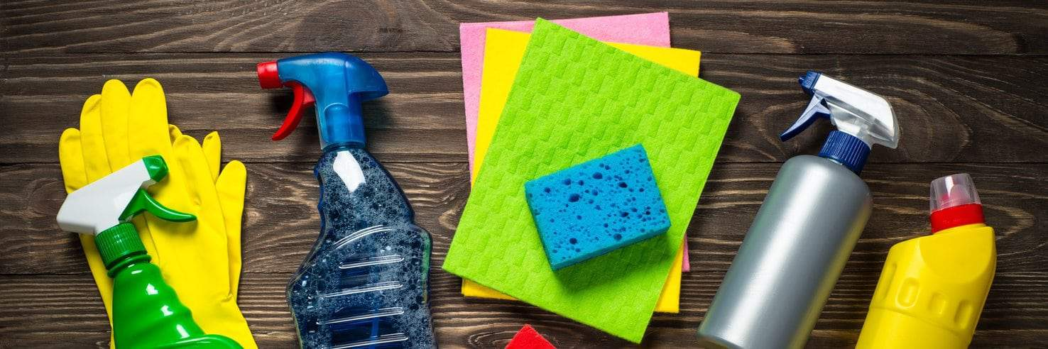 Cleaning products for wall panels