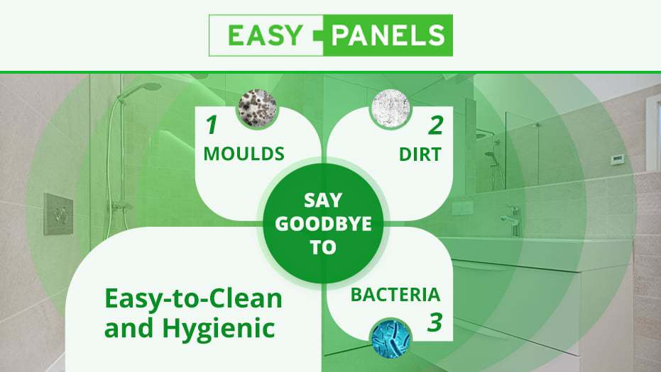 Easy-to-clean and hygienic