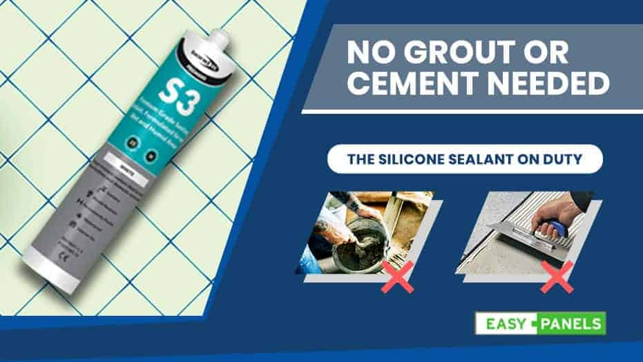 No Grout or Cement