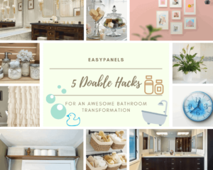 5 Doable Bathroom Hacks