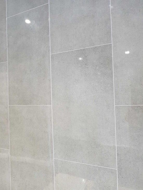 New Grey tile effect