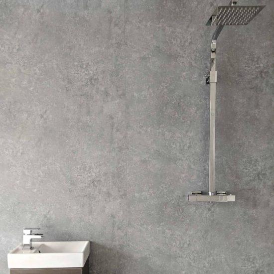 Light Concrete Shower Panel (1)
