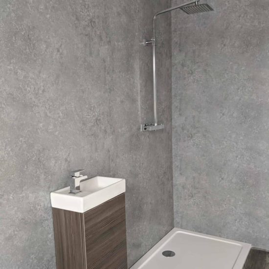 Light Concrete Shower Panel (2)
