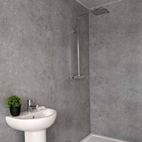Light Concrete Shower Panel (7)