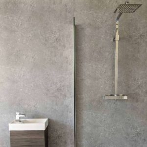Light Concrete Shower Panel (8)